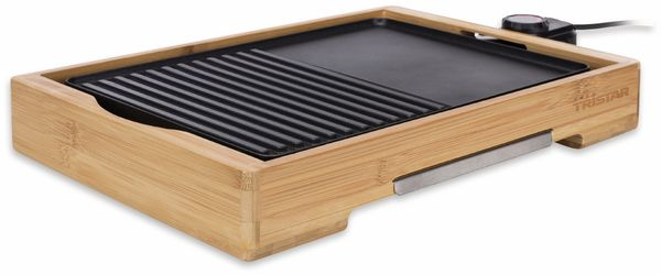 Bambus Grillplatte TRISTAR BP-2640, 2000 W