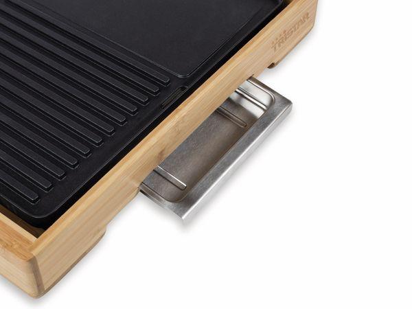 Bambus Grillplatte TRISTAR BP-2640, 2000 W - Produktbild 4