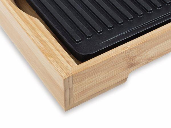 Bambus Grillplatte TRISTAR BP-2640, 2000 W - Produktbild 6
