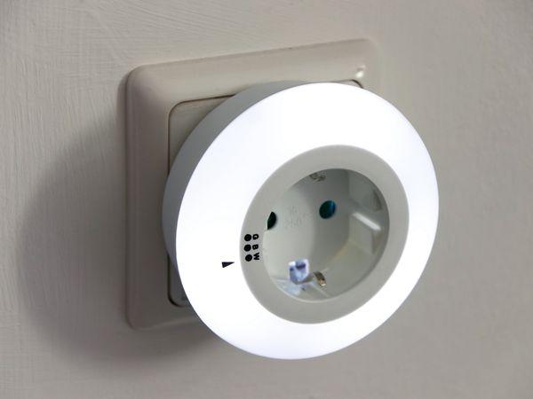LED-Nachtlicht mit Dämmerungsautomatik, Filmer, 20.865 - Produktbild 4