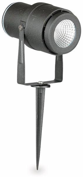 LED-Gartenleuchte V-TAC-857 (7545), EEK: A, 12 W, 720 lm, 4000 K, schwar