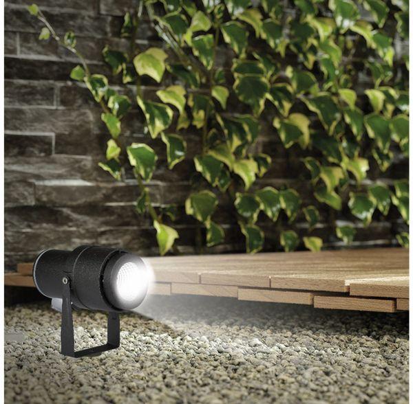 LED-Gartenleuchte V-TAC-857 (7545), EEK: A, 12 W, 720 lm, 4000 K, schwar - Produktbild 5