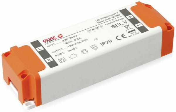 LED-Schaltnetzteil QUATPOWER YSL24W, 12 V-, 24 W