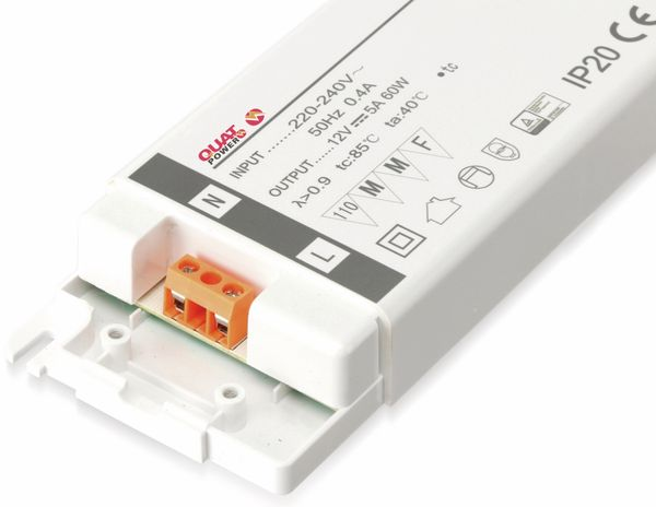 LED-Schaltnetzteil QUATPOWER YSL60W, 12 V-, 60 W - Produktbild 2
