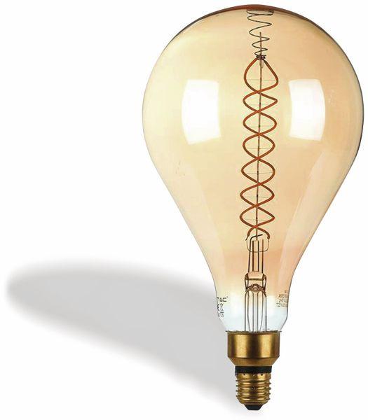 LED-Deko Lampe Amber, VT-2138D, E27, EEK: A, 8 W, 500 lm, 2000 K, dimmbar