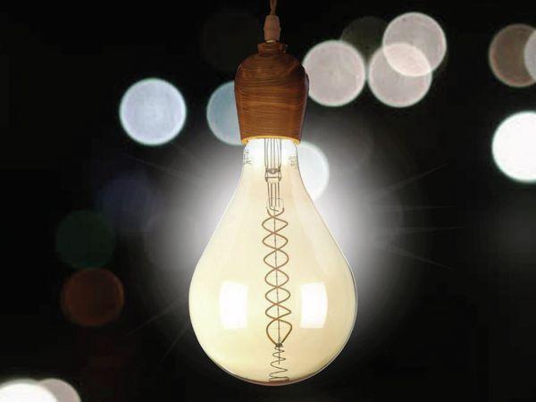LED-Deko Lampe Amber, VT-2138D, E27, EEK: A, 8 W, 500 lm, 2000 K, dimmbar - Produktbild 2
