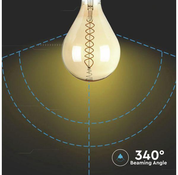 LED-Deko Lampe Amber, VT-2138D, E27, EEK: A, 8 W, 500 lm, 2000 K, dimmbar - Produktbild 6