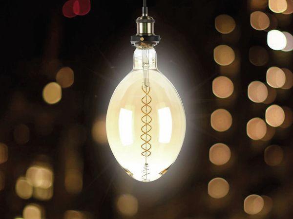 LED-Deko Lampe Amber, VT-2178D, E27, EEK: A, 8 W, 600 lm, 2000 K, dimmbar - Produktbild 3