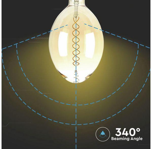 LED-Deko Lampe Amber, VT-2178D, E27, EEK: A, 8 W, 600 lm, 2000 K, dimmbar - Produktbild 6