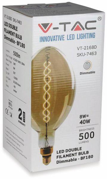LED-Deko Lampe Amber, VT-2178D, E27, EEK: A, 8 W, 600 lm, 2000 K, dimmbar - Produktbild 7