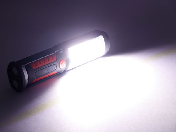 LED-Arbeitsleuchte DAYLITE MY-52029 SWING, rot/schwarz - Produktbild 7