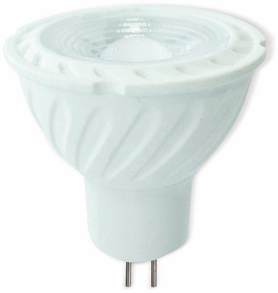 LED-Lampe V-TAC VT-257 (204), GU5,3, EEK: A+, 6,5 W, 450 lm, 4000 K