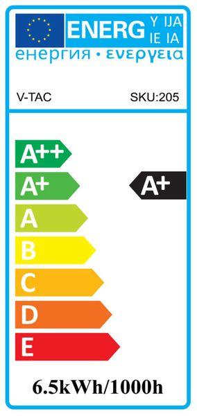 LED-Lampe V-TAC VT-257 (204), GU5,3, EEK: A+, 6,5 W, 450 lm, 4000 K - Produktbild 2