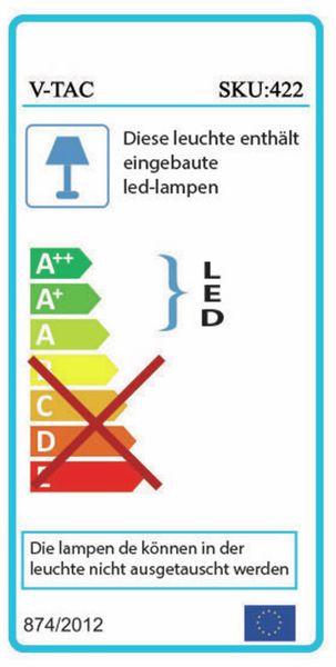 LED-Flutlichtstrahler V-TAC VT-300 (423), EEK: A, 300 W, 24000 lm, 4000K - Produktbild 2