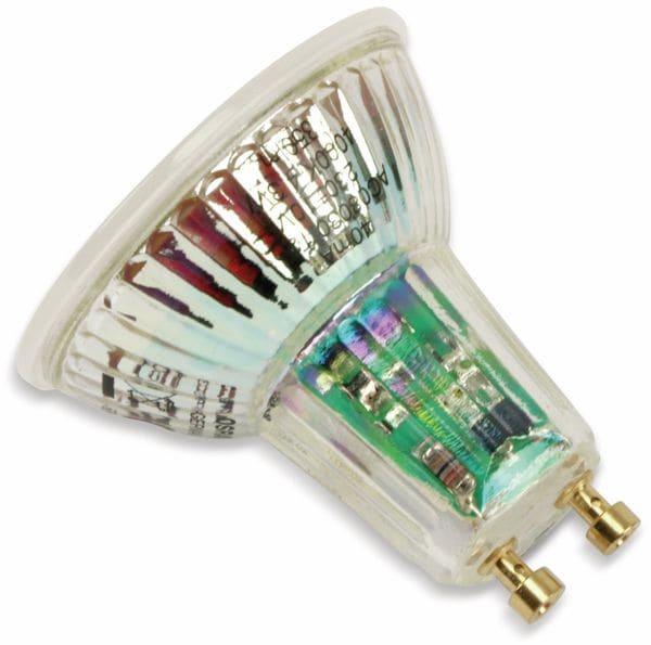 LED-Lampe OSRAM LED BASE PAR16, GU10, EEK A+, 4,3 W, 350 lm, 4000 K, 5 Stk. - Produktbild 3