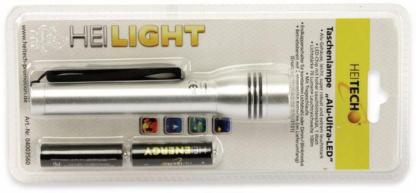 LED-Taschenlampe HEITECH Ultra 4003560, Aluminium - Produktbild 3