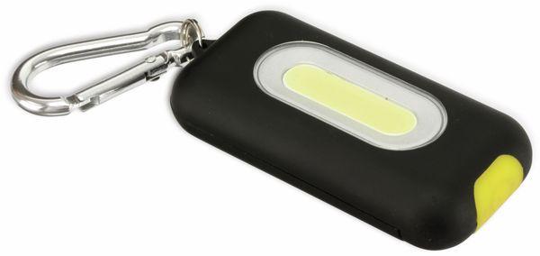 LED Schlüsselanhänger DAYLITE DP-COB315 KEYLIGHT, schwarz/gelb