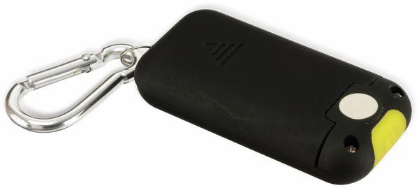 LED Schlüsselanhänger DAYLITE DP-COB315 KEYLIGHT, schwarz/gelb - Produktbild 2