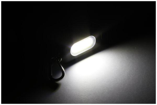 LED Schlüsselanhänger DAYLITE DP-COB315 KEYLIGHT, schwarz/gelb - Produktbild 4