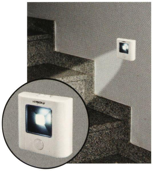 LED-Nachtlicht HEITECH 4003458 mit Bewegungsmelder, weiß, batteriebetrieb - Produktbild 4