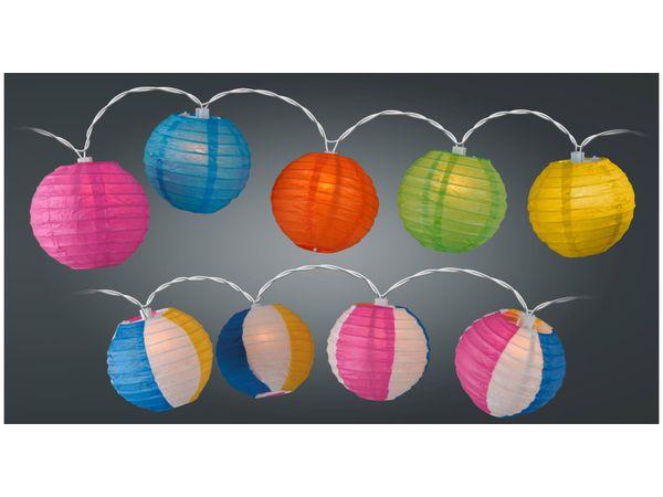 LED-Sommerlichterkette, 10 Lampions, verschiedene Ausführungen - Produktbild 1