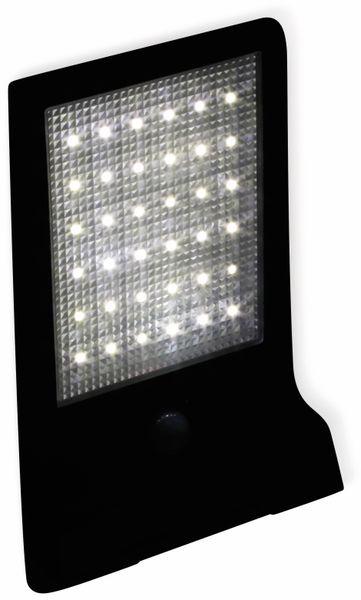 LED Solar-Außenleuchte DAYLITE WTT-1012, 36 LEDs, PIR, schwarz - Produktbild 4