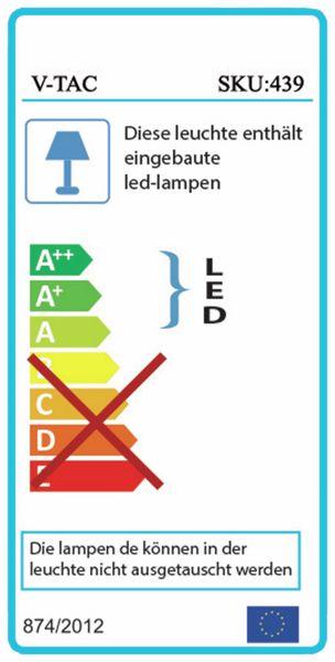 LED-Flutlichtstrahler V-TAC VT-20 (439), EEK: A, 20 W, 1600 lm, 3000K - Produktbild 2