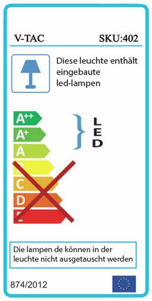 LED-Flutlichtstrahler V-TAC VT-30 (402), EEK: A, 30 W, 2400 lm, 6500K - Produktbild 2