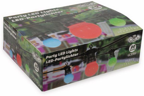 LED-Sommerlichterkette, 20 Kugeln, bunt, 9,75m, Innen/außen, 230V~ - Produktbild 2