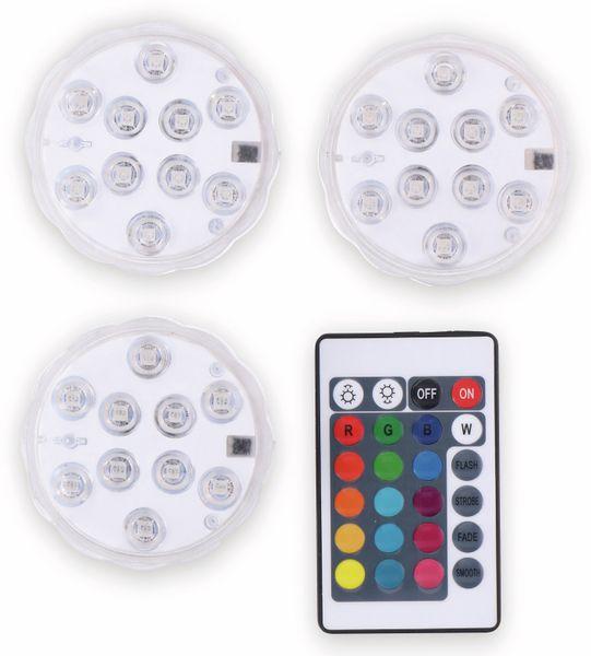 Grundig SET 3x LED RGB Leuchten inkl. Fernbedienung