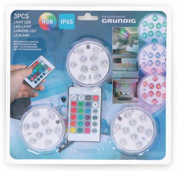 Grundig SET 3x LED RGB Leuchten inkl. Fernbedienung - Produktbild 7