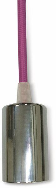 Hängeleuchte VT-7338-RR (3792) Chrom/ rosé, rund, E27, 100cm