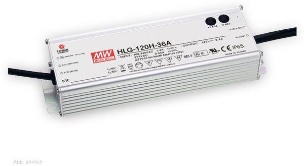 LED-Schaltnetzteil MEANWELL HLG-120H-12B, 12 V-/10 A