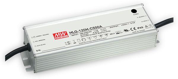 LED-Schaltnetzteil MEANWELL HLG-120H-C500A, 300 V-/500 mA