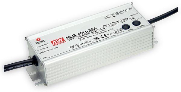 LED-Netzteil MEANWELL HLG-40H-12A, 12V-/3,33A