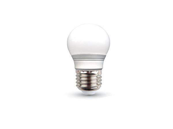 LED-Lampe VT-2053 Frost, E27, EEK: A+, 3 W, 250 lm, 4000 K