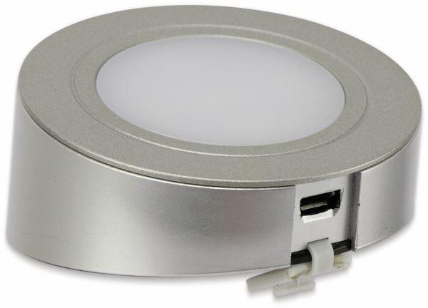 LED-Unterbauleuchte DAYLITE PIR06, Silber, Wandmontage - Produktbild 5
