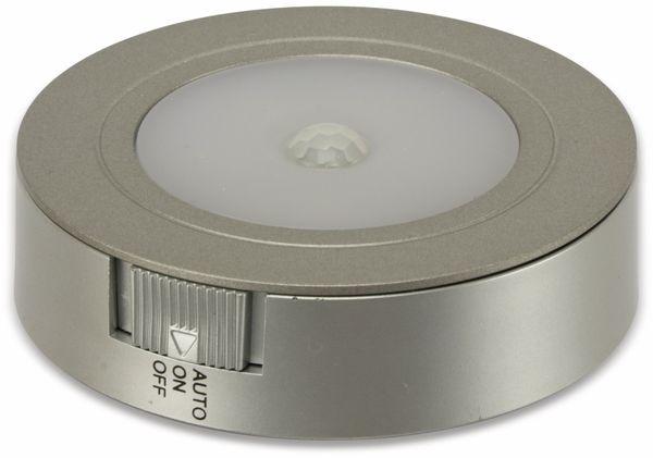 LED-Unterbauleuchte DAYLITE PIR07, Silber, Deckenmontage