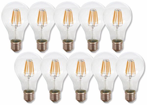 LED-Lampe V-TAC VT-1978(4407), E27, EEK: A+, 8 W, 800 lm, 2700 K, 10 Stück