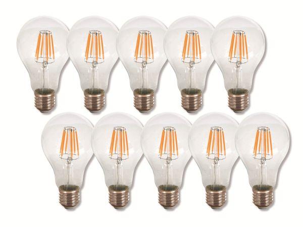 LED-Lampe VT-1978(4407), E27, EEK: A+, 8 W, 800 lm, 2700 K, 10 Stück