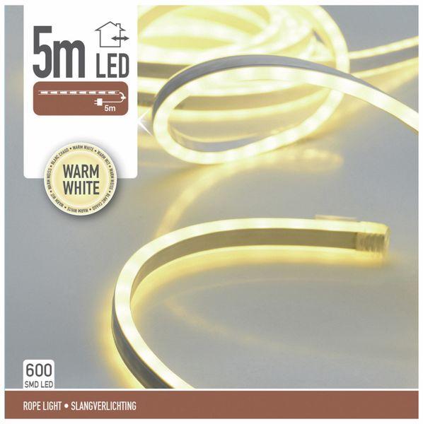 LED-Lichtband, IP44, 230 V~,5 m, 600 LEDs, warmweiß