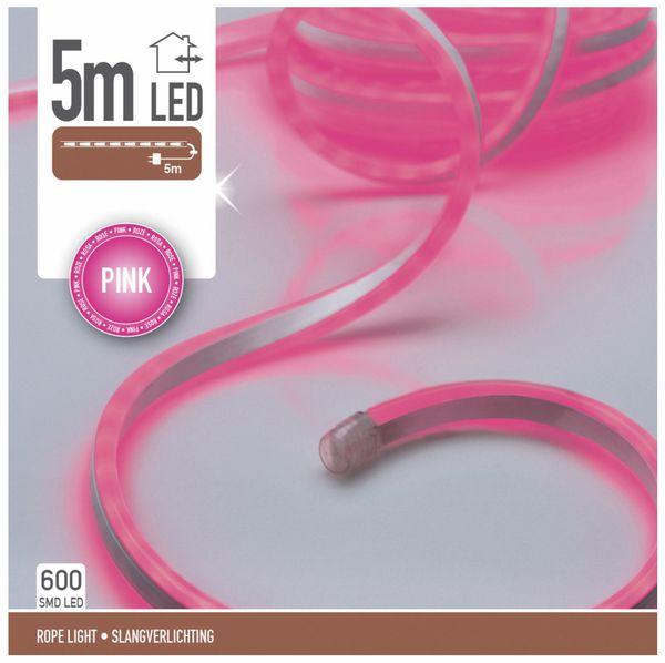 LED-Lichtband, IP44, 230 V~,5 m, 600 LEDs, pink