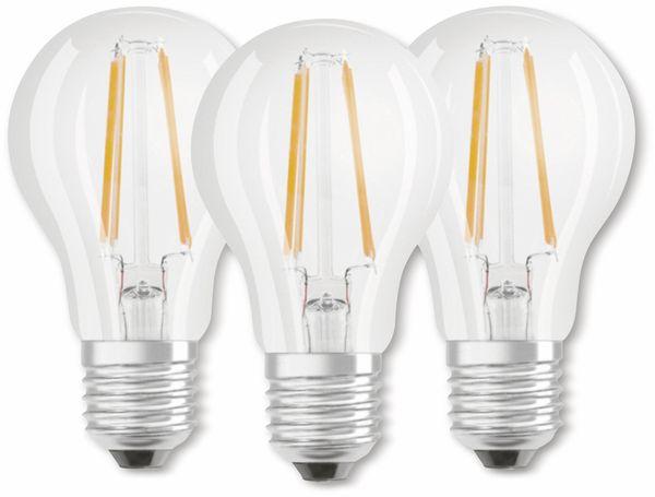 LED-Lampe OSRAM BASE CLAS A, E27, EEK: A++, 6W, 806 lm, 4000 K, 3 Stk. klar