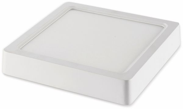 LED-Deckenleuchte VT-1408(4801), EEK: A, 8 W, 480 lm, 4000 K, eckig, weiß