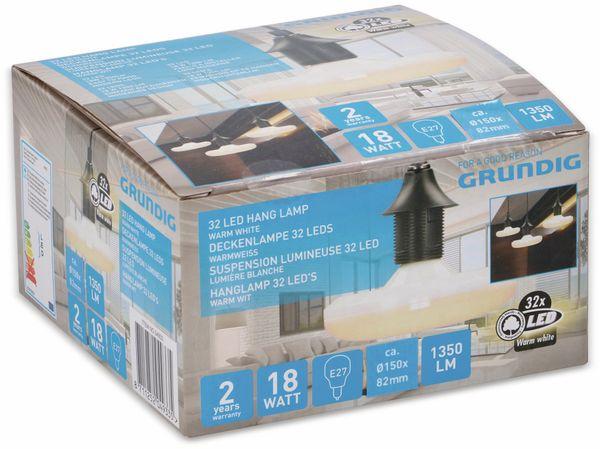 LED-Lampe GRUNDIG, E27, EEK: A, 18 W, 1350 lm, 3000 K - Produktbild 2