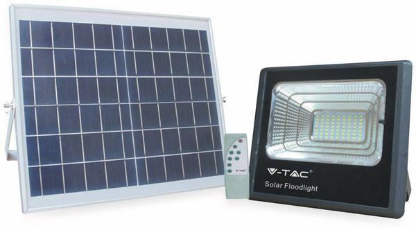 Solar LED-Fluter VT-40 mit Fernbedienung, 16 W, 1050 lm, 4000 K, schwarz