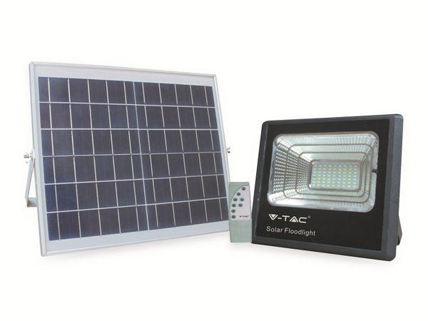 Solar LED-Fluter VT-40 mit Fernbedienung, 40 W, 1050 lm, 4000 K, schwarz