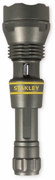 LED-Taschenlampe STANLEY, 450lm, 5 W, Powerbank, Aluminium, grau - Produktbild 2