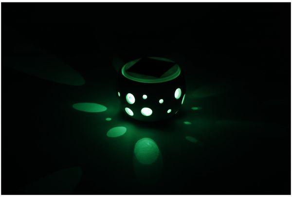 Solar-Keramiktopf GRUNDIG, Farbwechsel, 2 LED - Produktbild 2