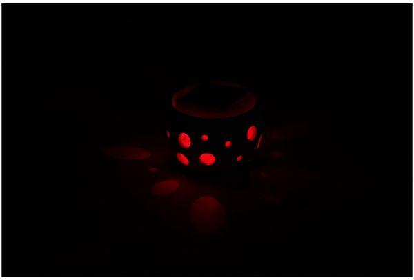 Solar-Keramiktopf GRUNDIG, Farbwechsel, 2 LED - Produktbild 4